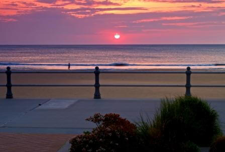 sunrise in virginia beach