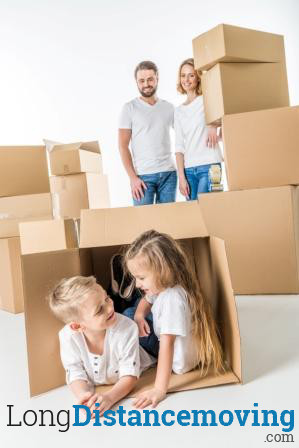 family moving out of state with kids