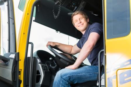 proud truck driver