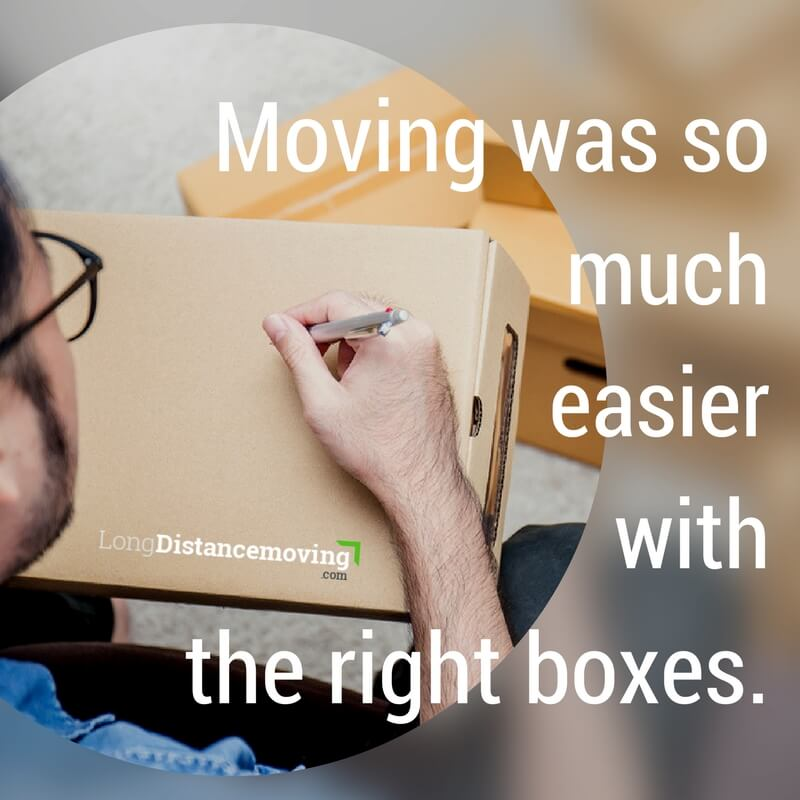 Moving was so much easier with the right moving boxes