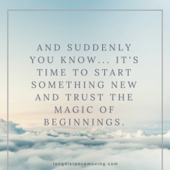 it's time to start something new...