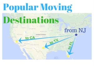 moving companies NJ to FL, CA, TX