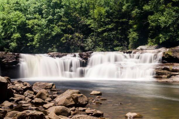 High Falls of Cheat waterfalls, Elkins, WV
