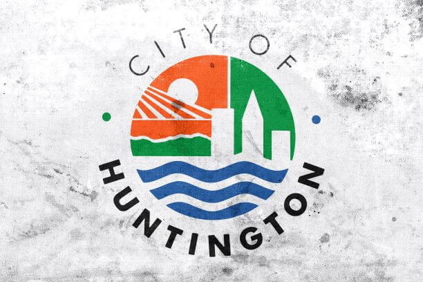 Flag of Huntington, West Virginia
